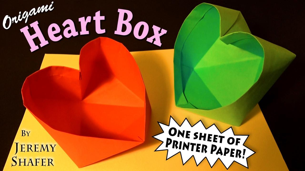 плоское маленькое сердце модульное оригами схема