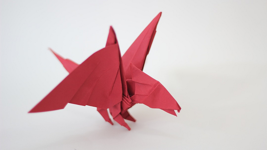 свои ми моделями оригами,