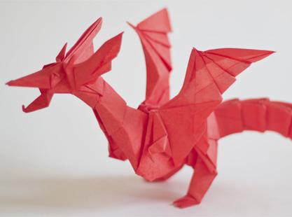 Замечательный мастер оригами