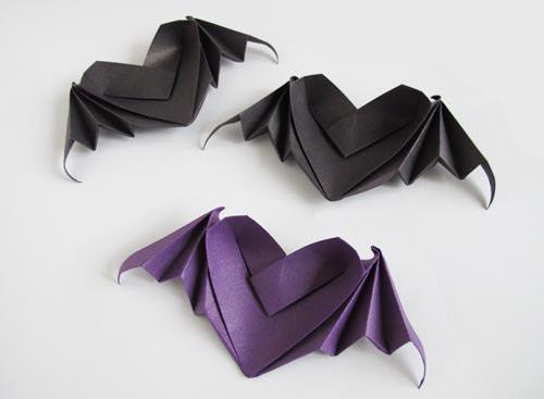 оригами ко дню Хэллоуина.