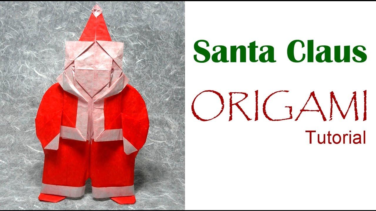 Оригами санта клаус схема фото 287