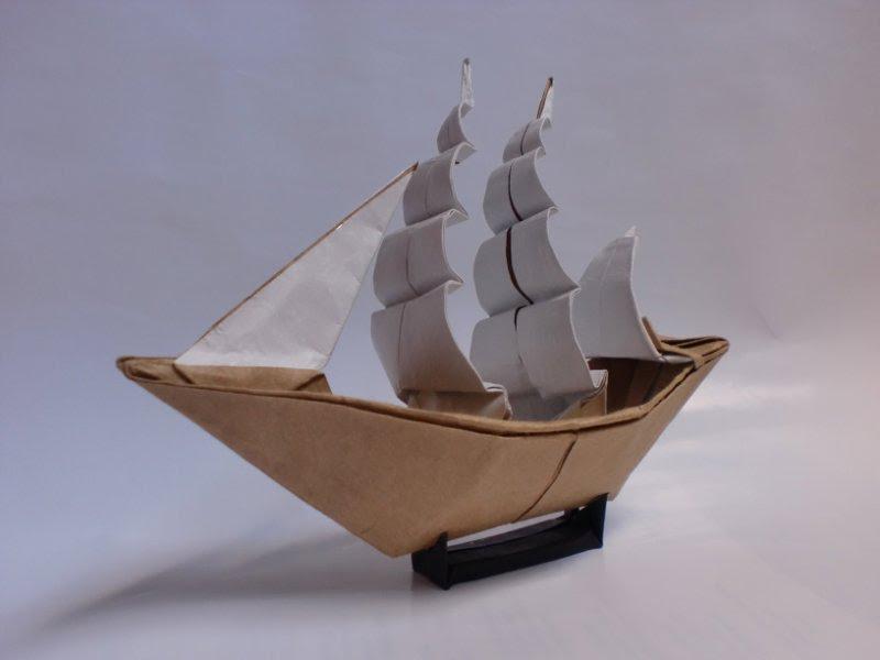 Модель корабля из бумаги своими руками фото 274